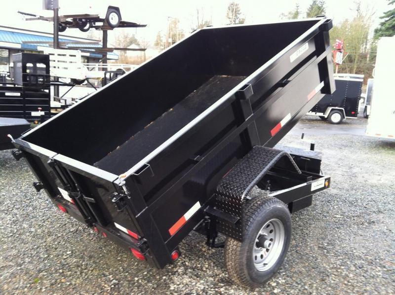 2021 Eagle Trailer 5' x 8' Eagle Single Axle Dump Eagle Dump Trailer