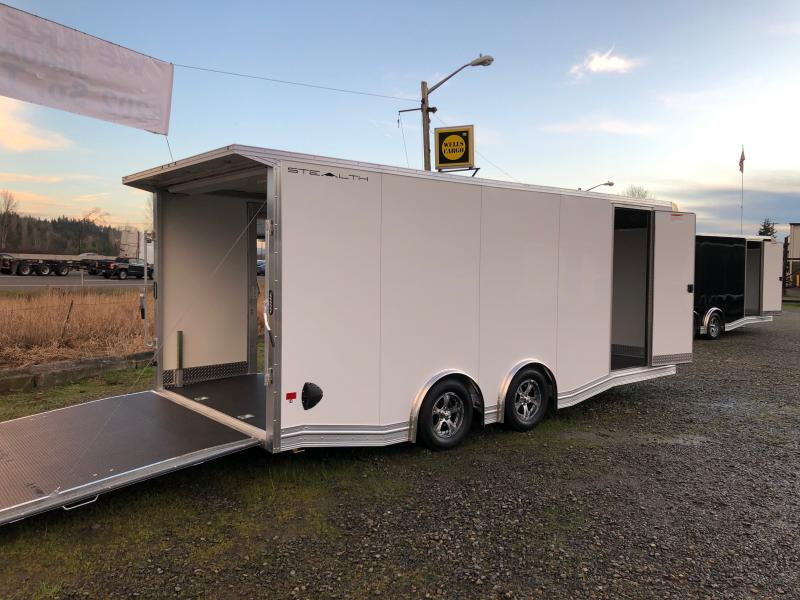 2021 Alcom-Stealth Trailers 8.5' X 20' Stealth Car Hauler Car / Racing Trailer