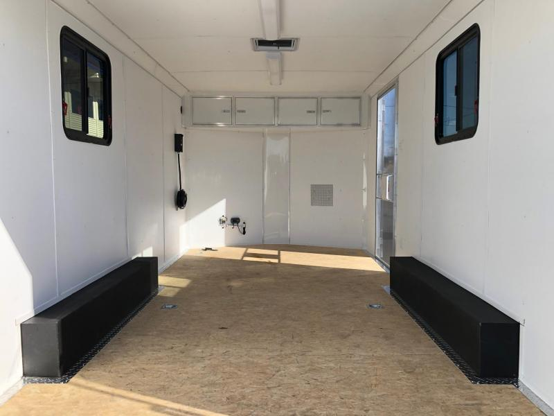 2021 Haulmark 8.5' X 16' Transport V-Nose Enclosed Cargo Trailer