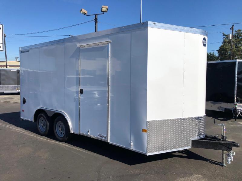 2022 Wells Cargo 8.5' x 16' Road Force V-Nose Enclosed Cargo Trailer
