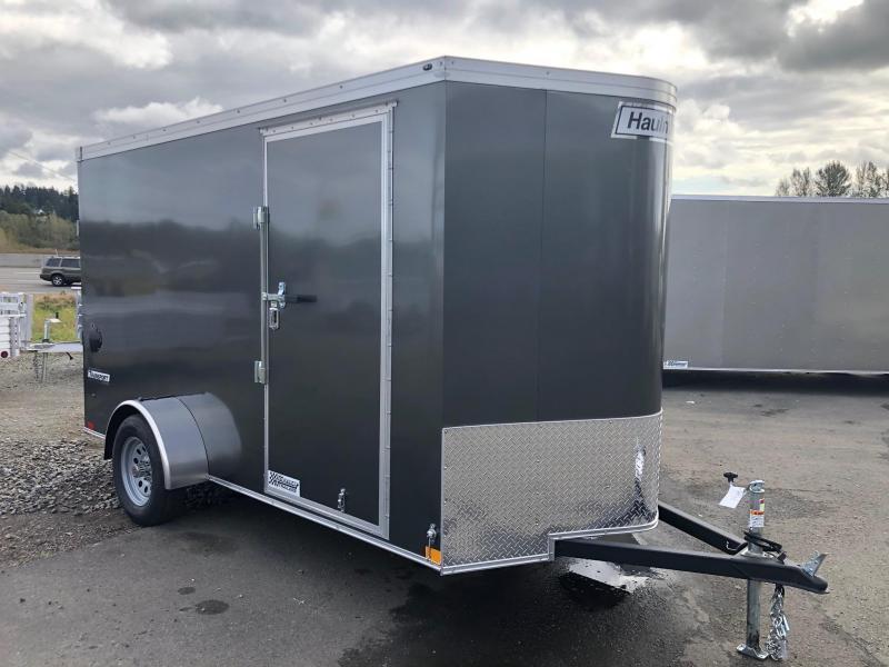 2021 Haulmark 6' X 10' Transport V-Nose Enclosed Cargo Trailer