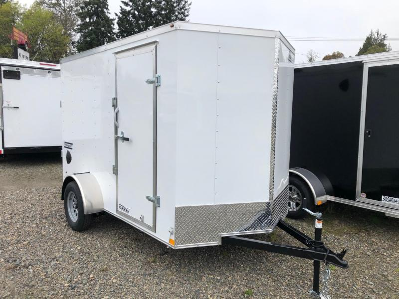 2021 Haulmark 6' X 10' Passport Deluxe Enclosed Cargo Trailer