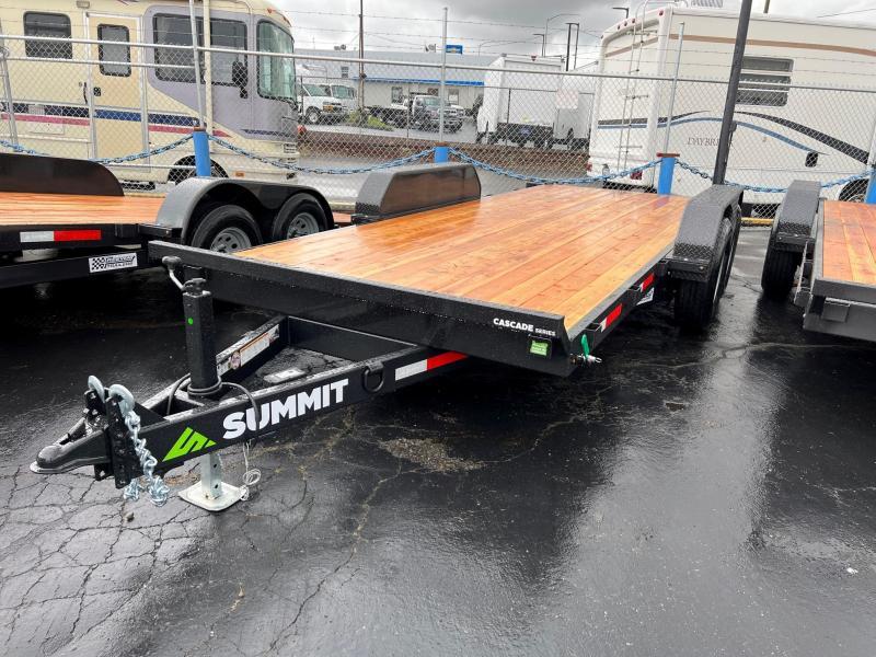 "2022 Summit 7' x 18' Cascade 6"" Tilt 14K Flatbed Trailer"