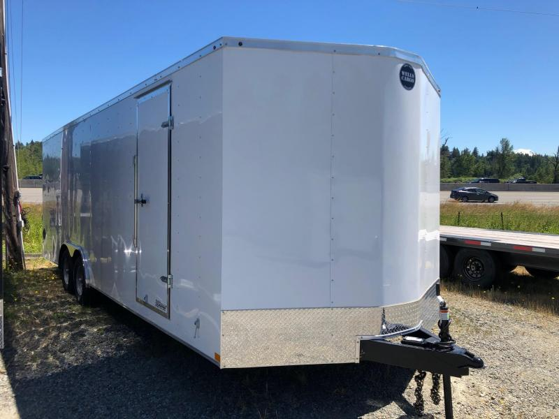 2020 Wells Cargo 8.5' X 20' V-Nose FastTrac Car / Racing Trailer