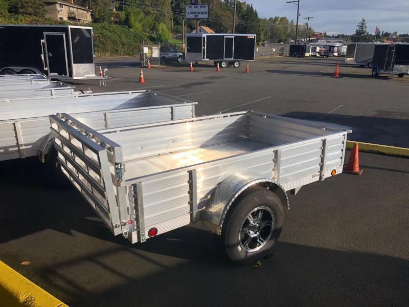 """2020 Sterling Trailers 6' X 12' Aluminum 16"""" Solid Sides Utility Trailer"""