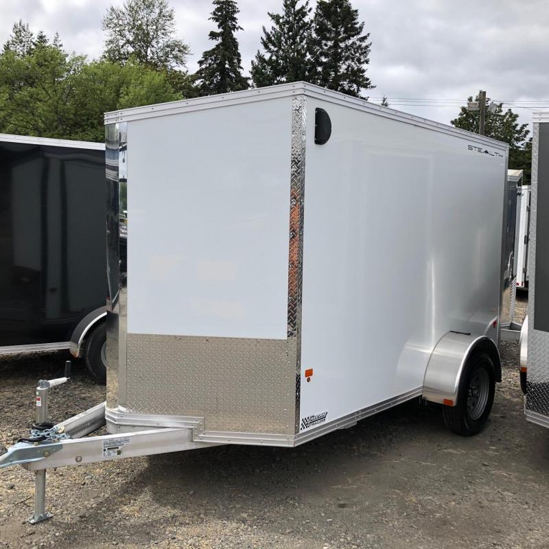 2019 Alcom-Stealth C6X12SA-IF Enclosed Cargo Trailer