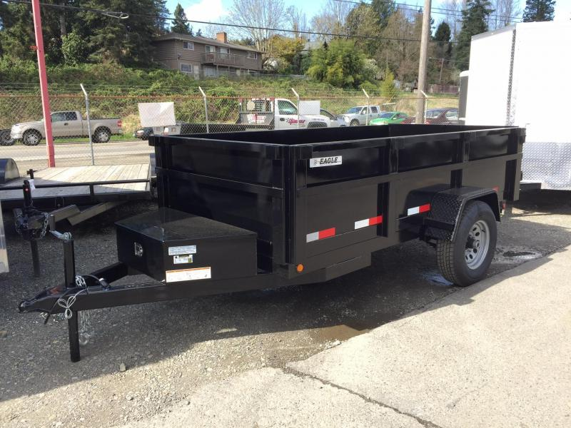 2021 Eagle Trailer 5' x 10' Eagle Single Axle Dump Eagle Dump Trailer