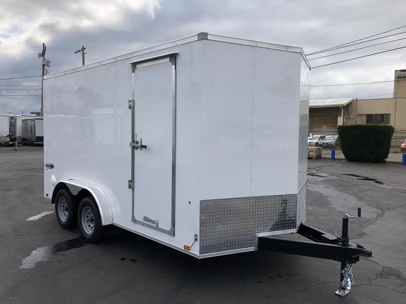 2022 Look Trailers 7.5' x 14' Element Cargo Flat Top Enclosed Cargo Trailer