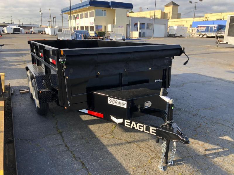 2021 Eagle Trailer 6' X 10' Eagle Dump Dump Trailer