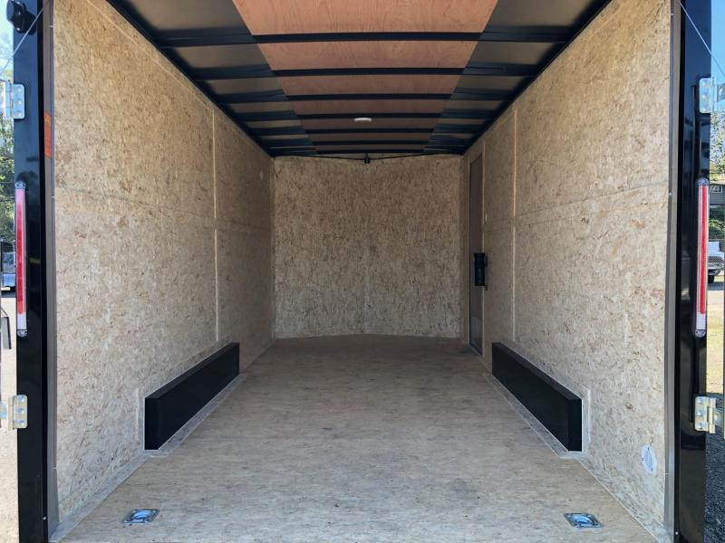 2021 Look Trailers 7.5' X 14' Element Flat Top V-Nose Enclosed Cargo Trailer
