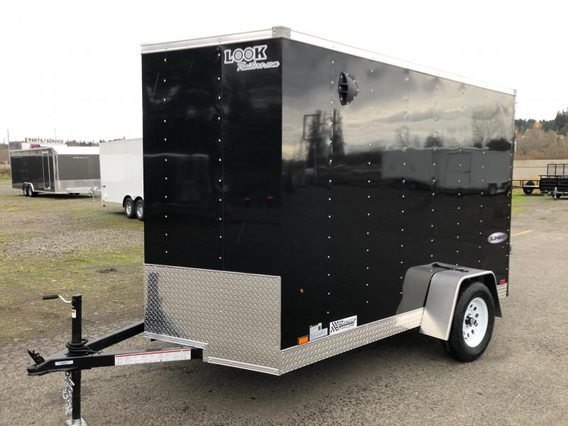 2021 Look Trailers 6' X 10' Element Cargo Enclosed Trailer