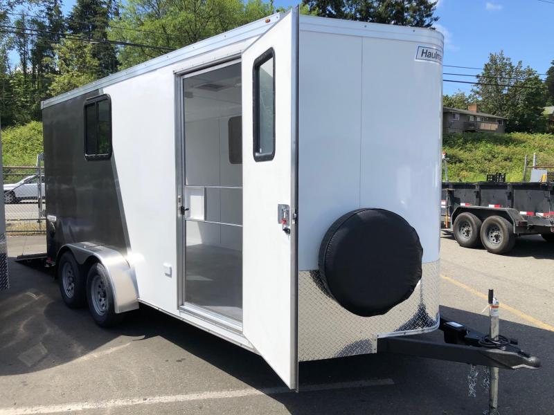 2020 Wells Cargo 7' X 16' Transport V-Nose Enclosed Cargo Trailer