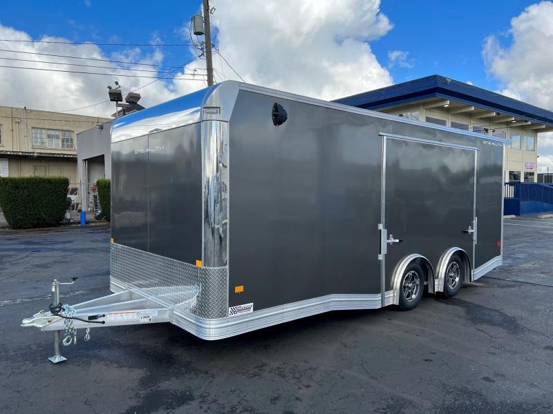 2022 ALCOM 8.5' x 20' Stealth Car Hauler Car / Racing Trailer