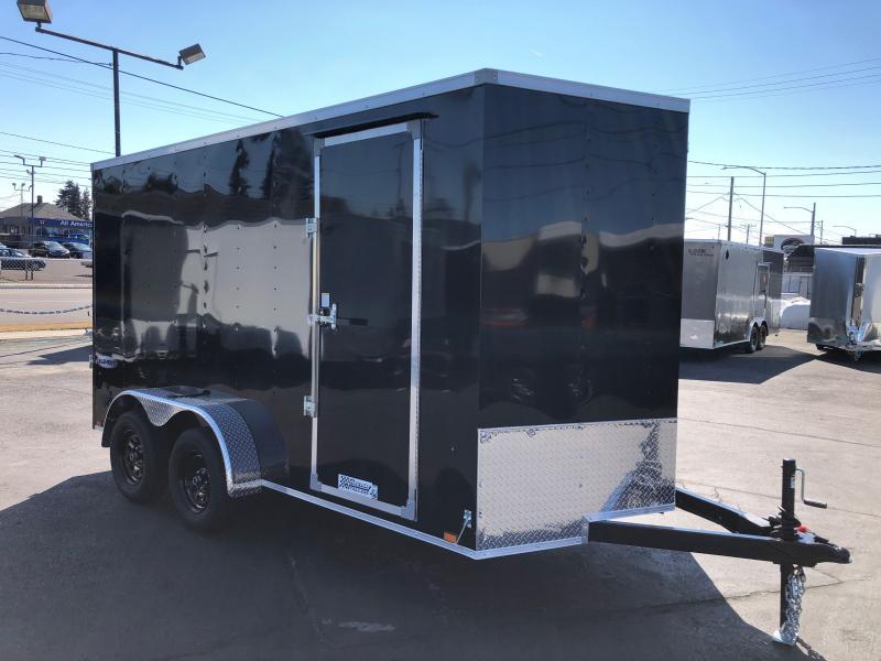 2022 Look Trailers 7' x 14' Element Cargo Flat Top Enclosed Cargo Trailer