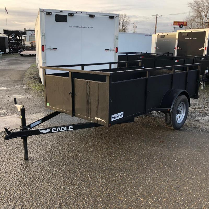 2021 Eagle Trailer 4' X 8' Falcon Lightspeed Utility Trailer