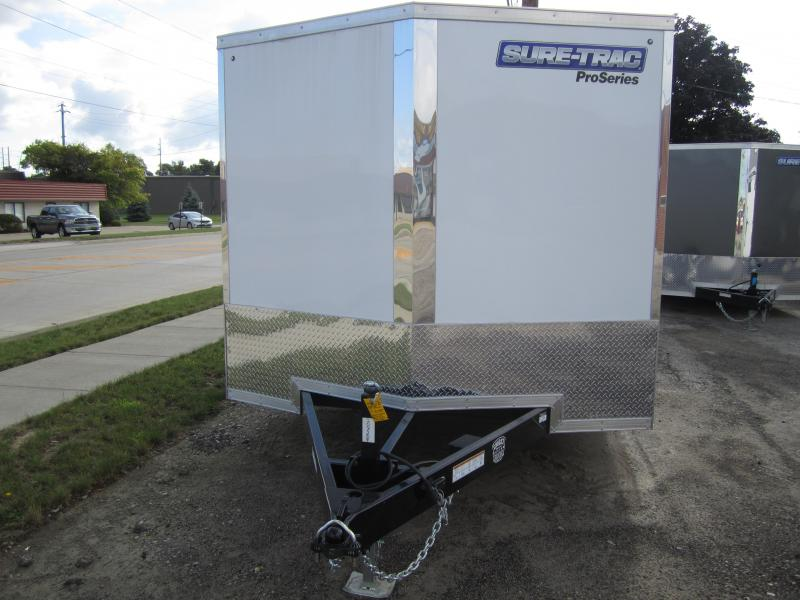 2021 Sure-Trac 8.5 x 18 Pro Series Enclosed Wedge Cargo