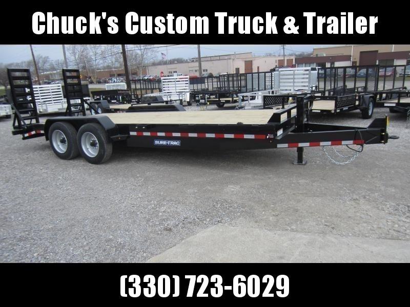 2021 Sure-Trac 7 x 20 Equipment Trailer  16K
