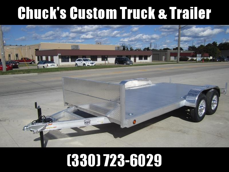 "2021 Primo ALUMINUM CAR HAULER 82""X18' Car / Racing Trailer"