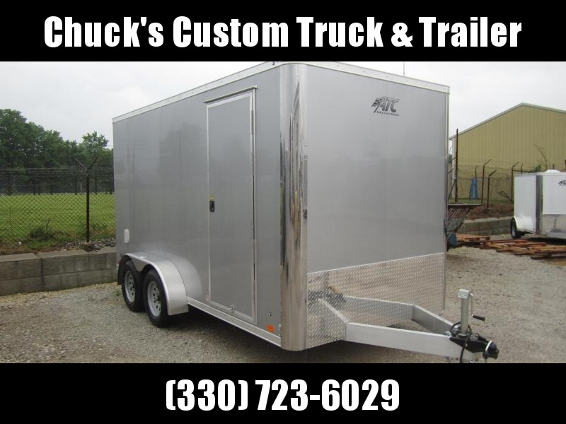 Aluminum Trailer Company 7X14 ATC RAMP DOOR Enclosed Cargo Trailer