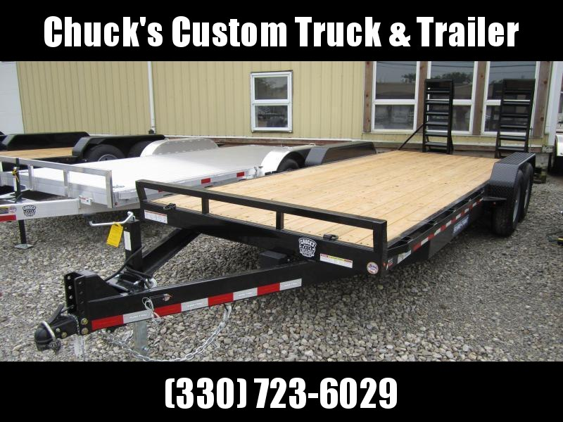 2021 Sure-Trac 7 x 20 Equipment Trailer  14K