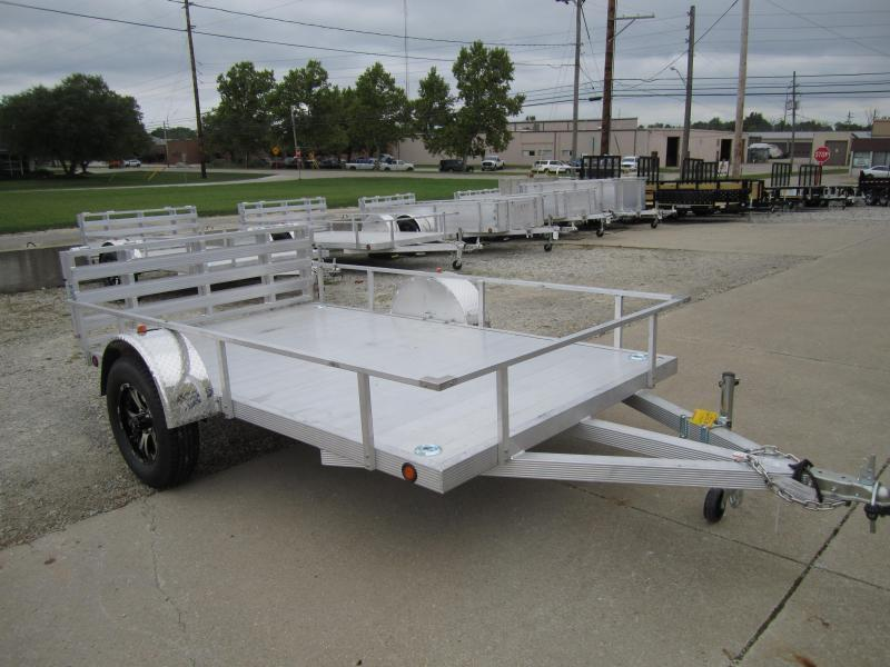 Primo 6'X10' ALL ALUMINUM STD SIDES Utility Trailer