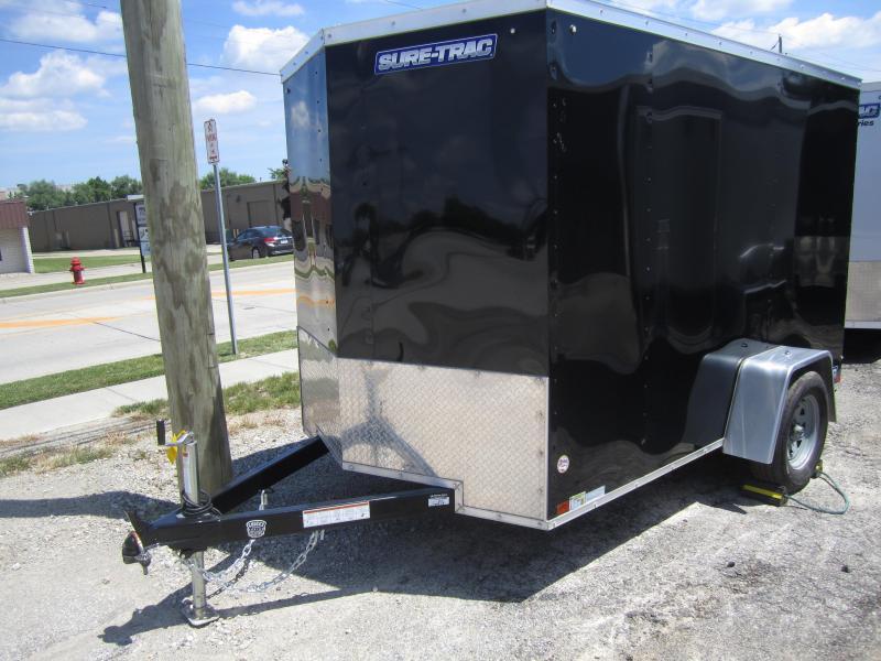 2020 Sure-Trac 6 x 10 Enclosed Wedge  Single Axle