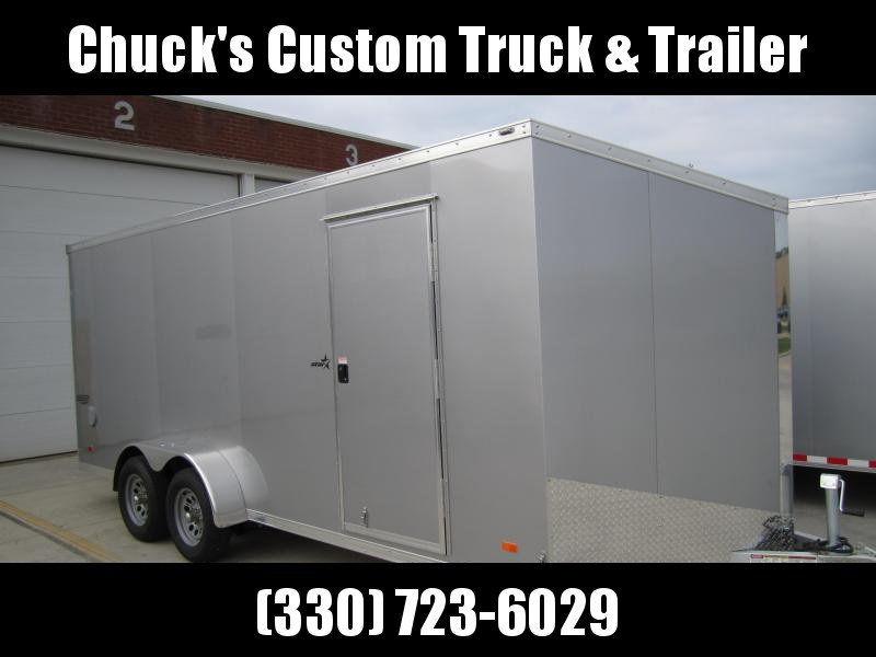 2021 Bravo Trailers 7'X18' ALL ALUMINUM Enclosed Cargo Trailer