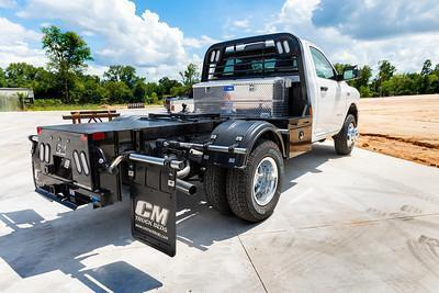 """2021 CM Truck Beds HS HOT SHOT BED FOR 60"""" CAB TO AXLE CHASSIS"""