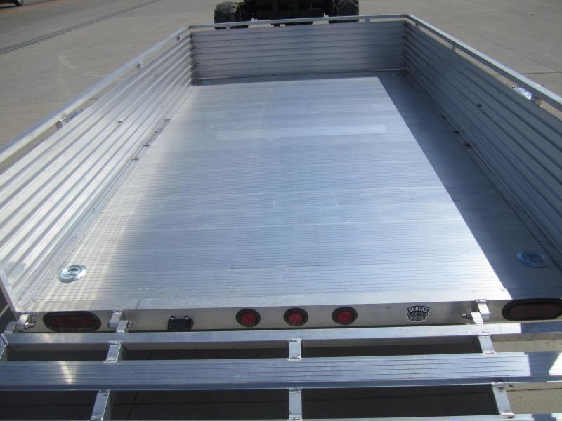 """Primo 6'X10' ALL ALUMINUM 16"""" HIGH SIDES Utility Trailer"""