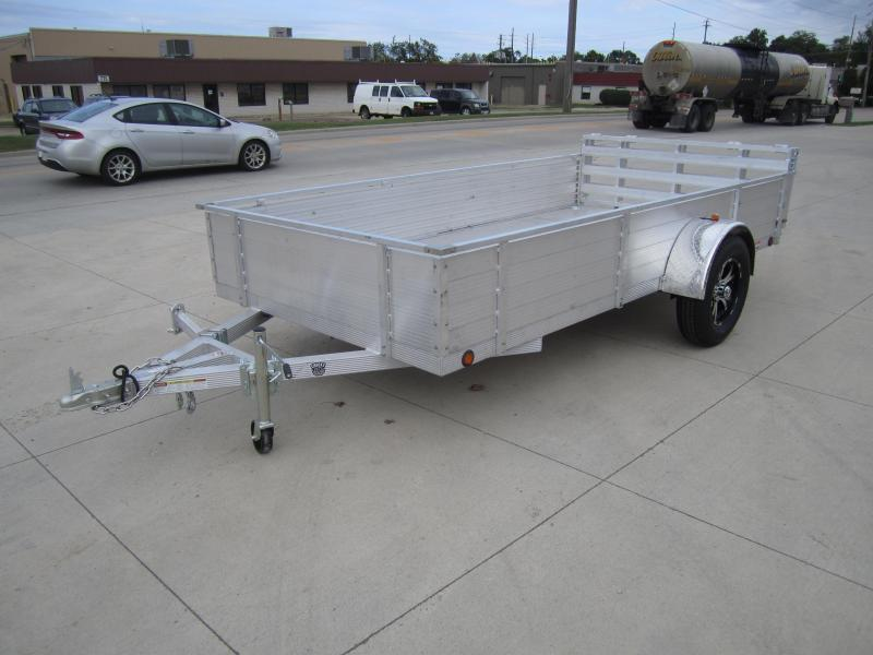 "Primo 6'X12' ALL ALUMINUM 16"" HIGH SIDES Utility railer"