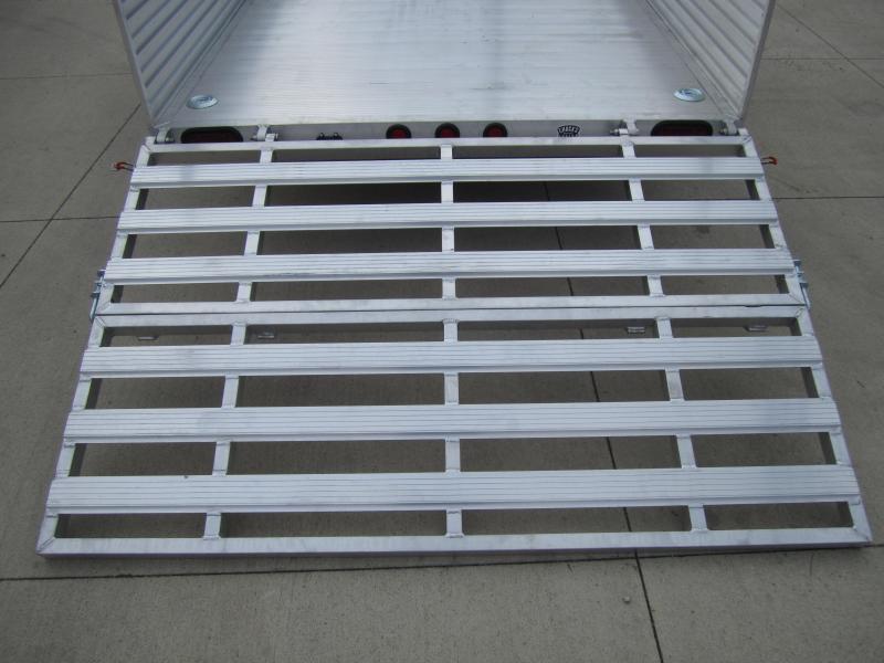 "Primo 6'X12' ALL ALUMINUM 16"" HIGH SIDES Utility railer"