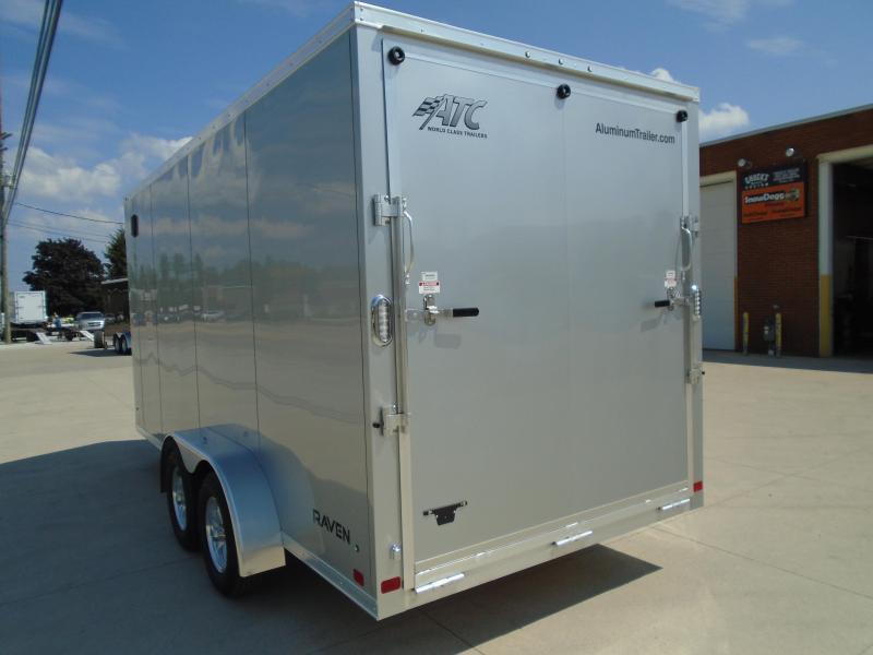 2022 Aluminum Trailer Company 7'X16' RAVEN LIMITED CARGO Enclosed Cargo Trailer