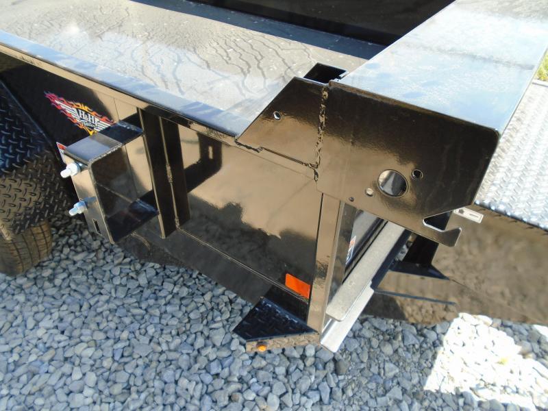2021 H and H Trailer 62x10 Utility Dump Trailer  7K Single Ra