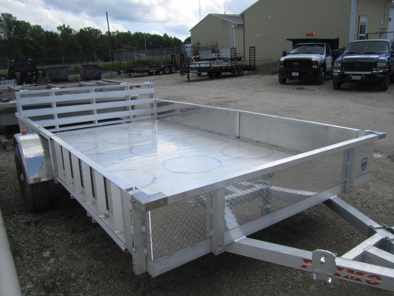 "2020 Primo ATV 82""X12' ALL ALUMINUM ATV Trailer ATP SIDES"