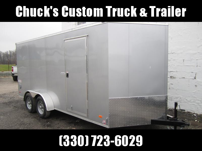 Bravo Trailers 7X16 RAMP DOOR Enclosed Cargo Trailer