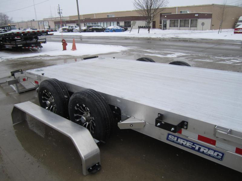 2021 Sure-Trac 7'X18' ALUMINUM CAR HAULER/IMPLEMENT Car / Racing Trailer