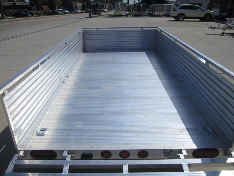 """Primo 5'X10' ALL ALUMINUM 16"""" HIGH SIDE Utility Trailer"""