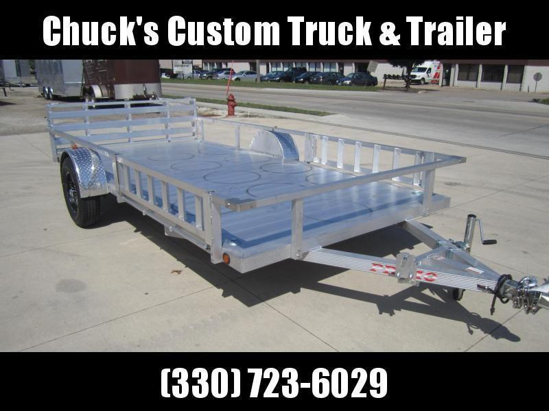 "Primo ALL ALUMINUM ATV TUBE TOP 82""X14' ATV Trailer"
