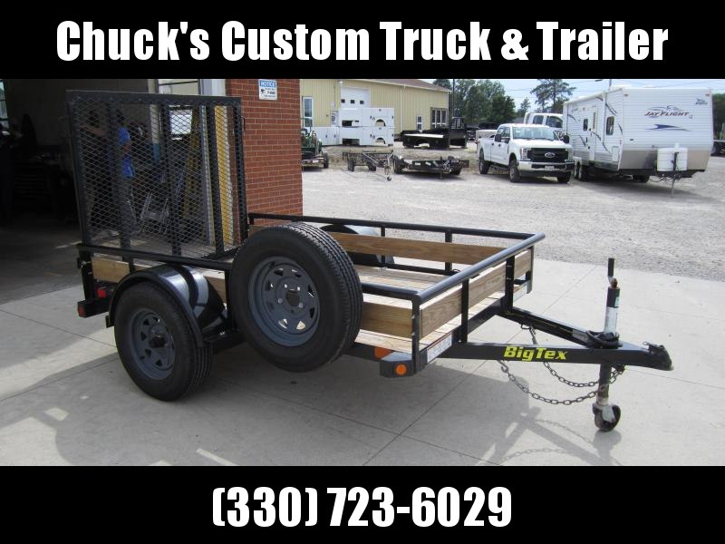 2018 Big Tex Trailers USED 2018 5'X8' TUBE TOP Utility Trailer