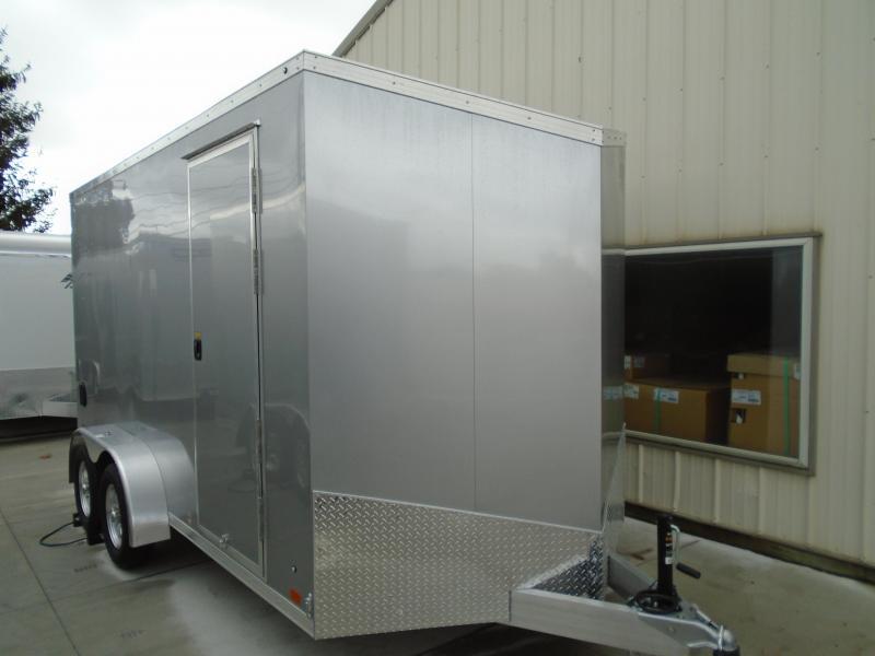 2022 Aluminum Trailer Company 7X14 ATC RAVEN LIMITED CARGO Enclosed Cargo Trailer