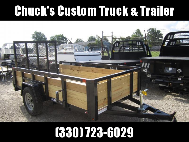 2021 Sure-Trac 5 x 10 Tube Top Three Board Trailer  3K