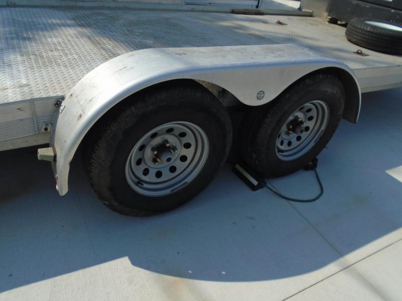 2007 Thule Trailers USED 7X18 ALUMINUM CAR HAULER Car / Racing Trailer
