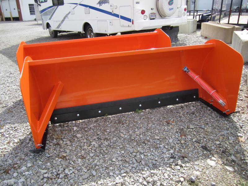 2020 Buyers 8' box pusher skid steer Snow Plow