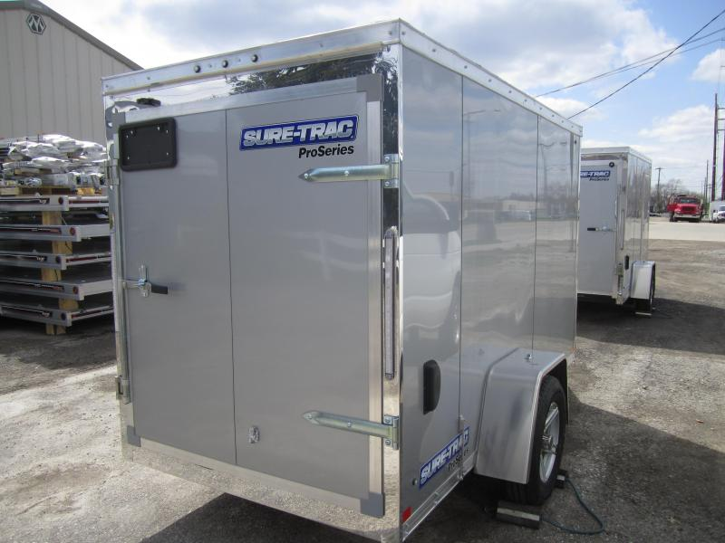 2021 Sure-Trac 5 x 10 Pro Series Enclosed Wedge Cargo T