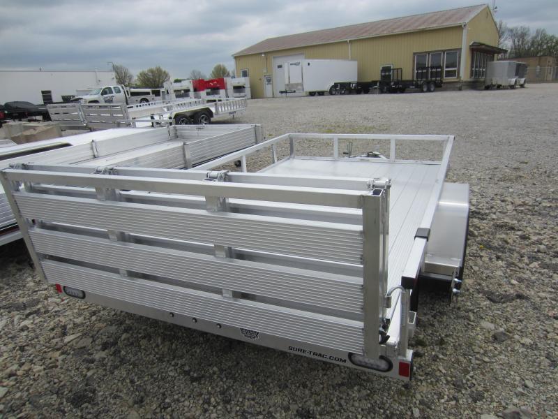 2021 Sure-Trac 7 X 12 Aluminum Tube Top Utility  3K Idl