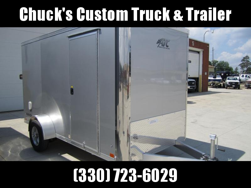 2021 ATC 6'X12' RAVEN RAMP DOOR Enclosed Cargo Trailer