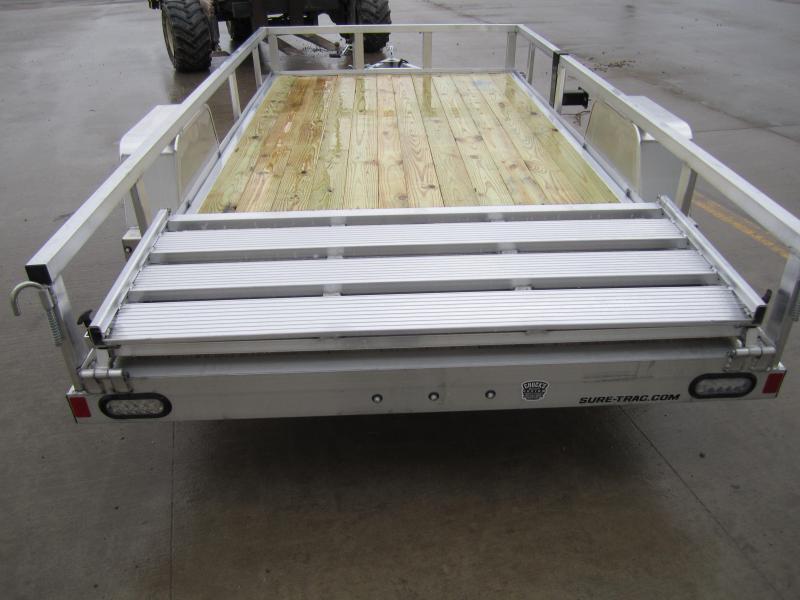 2021 Sure-Trac 6 X 12 Aluminum Tube Top Utility  3K Idl