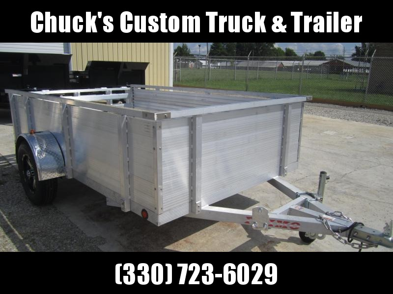 "Primo 6'X10' ALL ALUMINUM 30"" HIGH SIDES Utility Trailer"