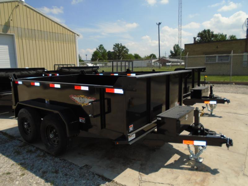 2021 H and H Trailer 76x10 Utility Dump Trailer  10K Single R