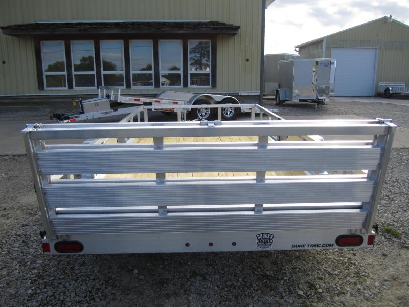 2021 Sure-Trac 7'X14' ALUMINUM TUBE TOP TRAILER Utility Trailer